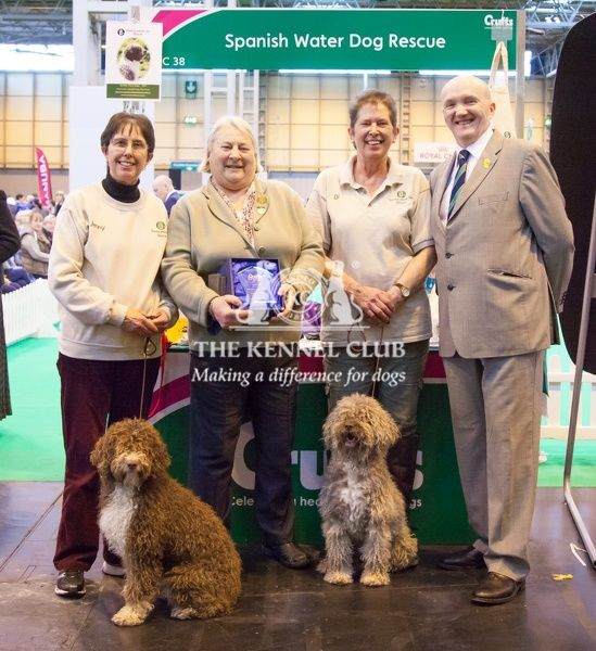 Winner of breeder club stand