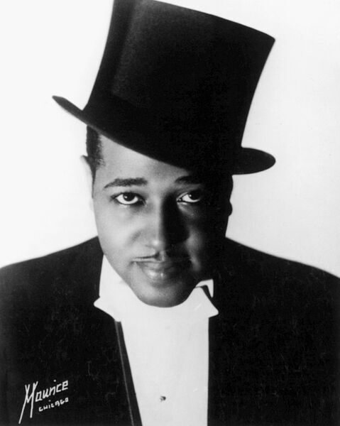DUKE ELLINGTON (1899-1974).  American musician and composer. Photographed in 1934 by Maurice Seymour