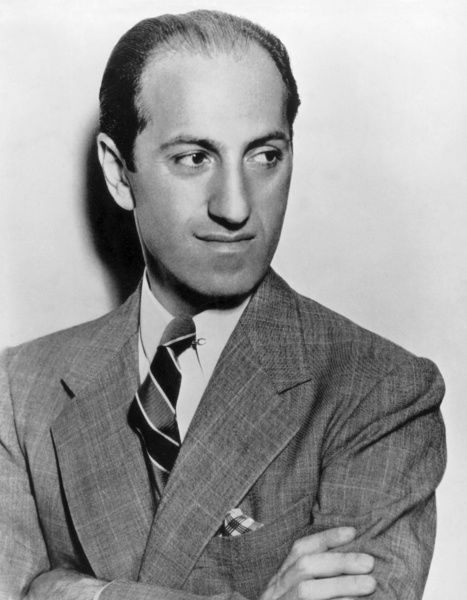 GEORGE GERSHWIN (1898-1937).  American composer. Photographed shortly before his death in 1937
