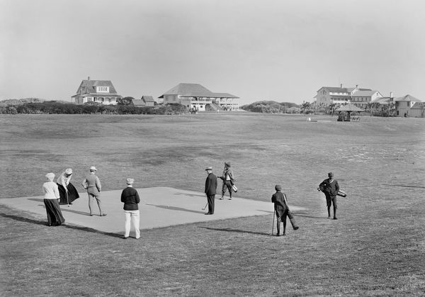 Golf Course C1910 A Golf Course And Clubhouse In Ormond 12408460