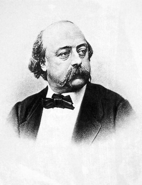 GUSTAVE FLAUBERT (1821-1880).  French novelist. Photographed by Nadar