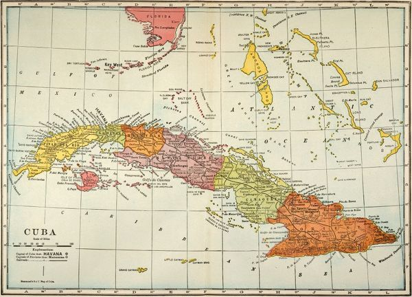 Cuba Map USA Free Download Images World Maps Of America Inside