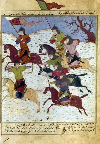 mongol-battle-c1400-battle-at-the-time-o