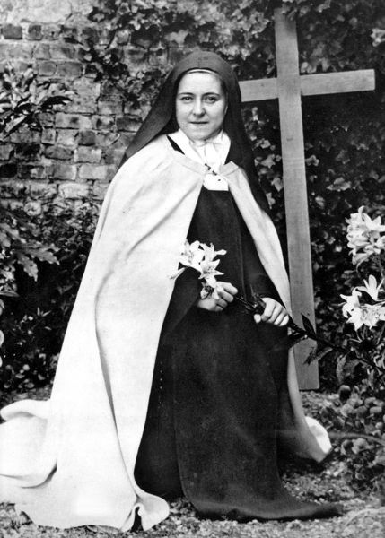 SAINT THERESE DE LISIEUX  (1873-1897). French Carmelite nun and author, known as Saint Therese of the child Jesus