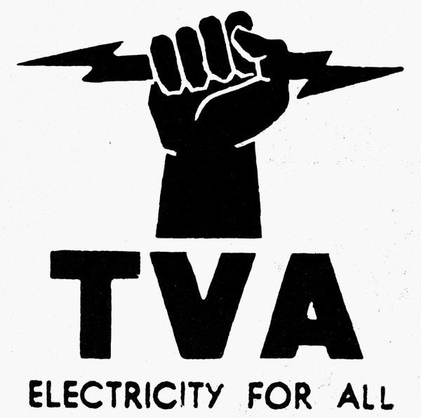 Symbol Of The Tennessee Valley Authority Established In 1933 To