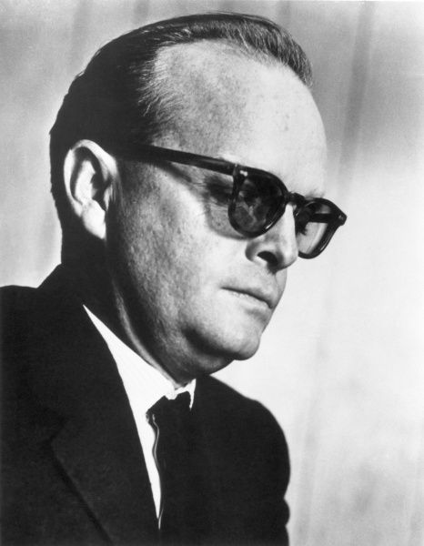 TRUMAN CAPOTE (1924-1984).  American writer. Photographed c1966