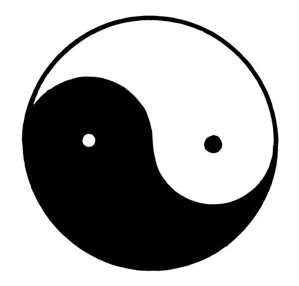 Yin Yang Symbol Symbol For Yin And Yang The Opposite But