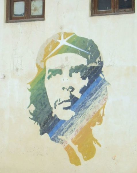 Che on the Wall. Taken in Havana, Cuba
