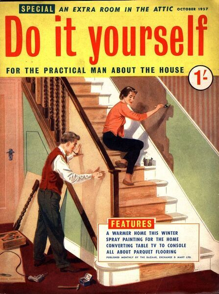 Do it yourself 1950s uk diy stairs decorating magazines do it do it yourself 1950s uk diy stairs decorating magazines do it yourself interiors solutioingenieria Images