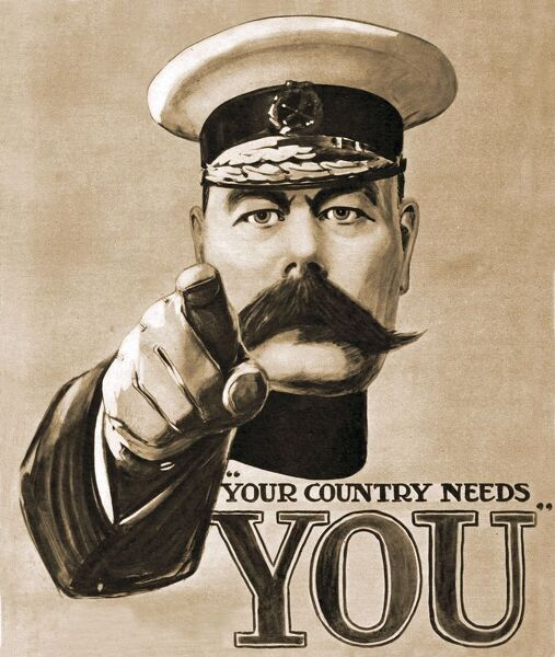 lord kitchener your country needs you pocket