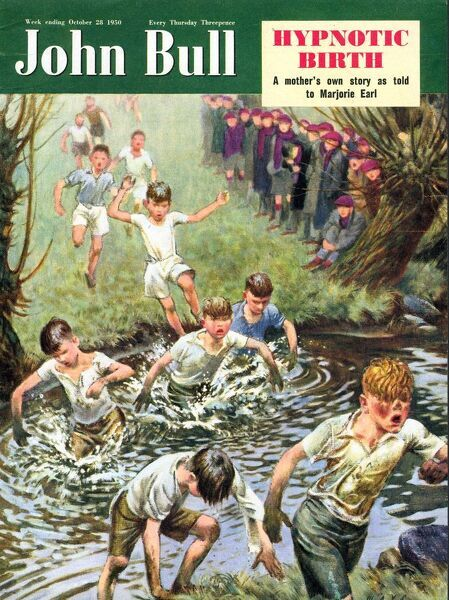 John Bull 1950 1950s UK cross country running races athletics magazines athletes
