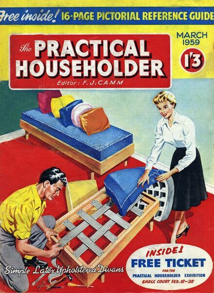 Perfect Practical Householder 1957 1950s UK DIY Do It Yourself Home Improvement  Magazines