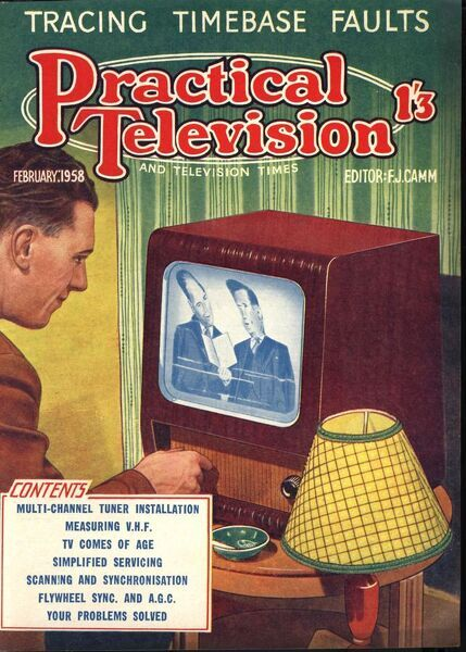 Practical television 1950s uk televisions diy magazines do it practical television 1950s uk televisions diy magazines do it yourself solutioingenieria Images