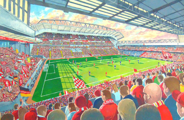 Anfield *NEW* Stadium Fine Art - Liverpool Football Club
