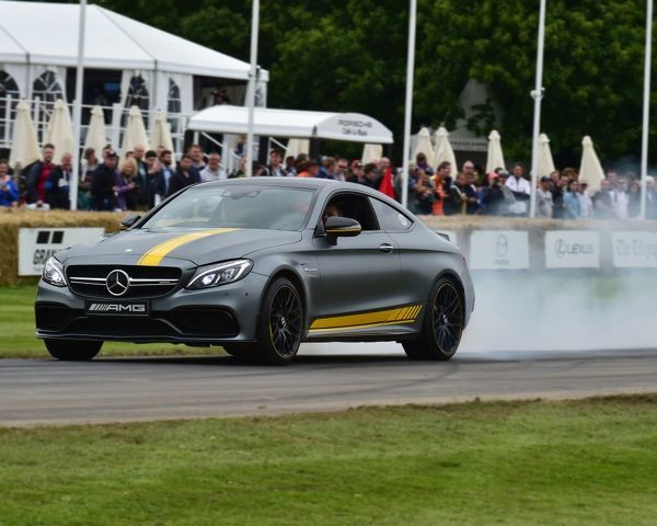 Jamie Wall, Leo Forster, Mercedes-Benz C63 AMG, Coupe Edition 1, First Glance, Goodwood Festival of Speed, 2016. automobiles, cars, entertainment, Festival of Speed, FoS, Full Throttle, Goodwood, Goodwood Festival of Speed, heritage