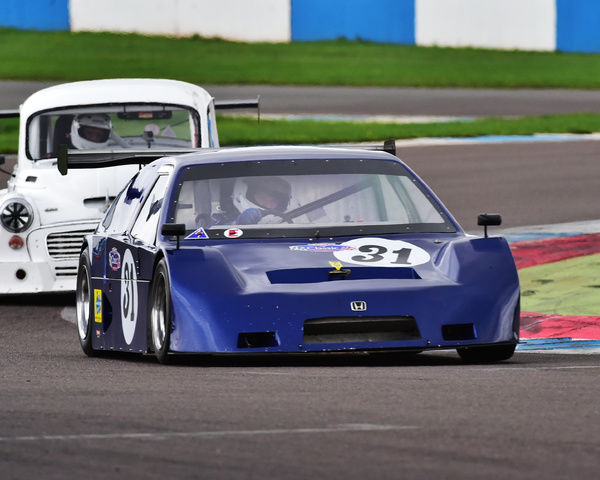 Thomas Carey, Honda CRX, Special Saloons and Modsports, Classic Sports Car Club, CSCC, Late Summer race Meeting, Donington Park, Sunday, 4th September, 2016, circuit racing, cars, saloons, sports cars, motorsport, autosport, cars, racing competition