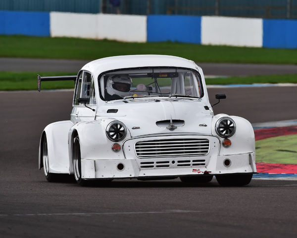 Craig Percy, Morris Minor, Special Saloons and Modsports, Classic Sports Car Club, CSCC, Late Summer race Meeting, Donington Park, Sunday, 4th September, 2016, circuit racing, cars, saloons, sports cars, motorsport, autosport, cars, racing competition
