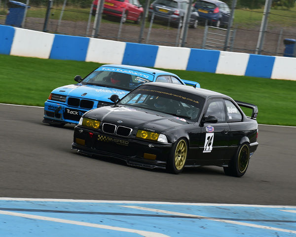 Dominic Malone, BMW M3 E36, New Millenium Series, Nextec Dunlop Puma Cup, Classic Sports Car Club, CSCC, Late Summer race Meeting, Donington Park, Sunday, 4th September, 2016, circuit racing, cars, saloons, sports cars, motorsport, autosport