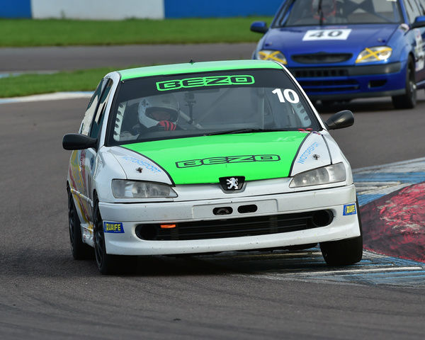 Peter Wilkinson, Peugeot 306, Tin Tops, Classic Sports Car Club, CSCC, Late Summer race Meeting, Donington Park, Sunday, 4th September, 2016, circuit racing, cars, saloons, sports cars, motorsport, autosport, cars, racing competition, track