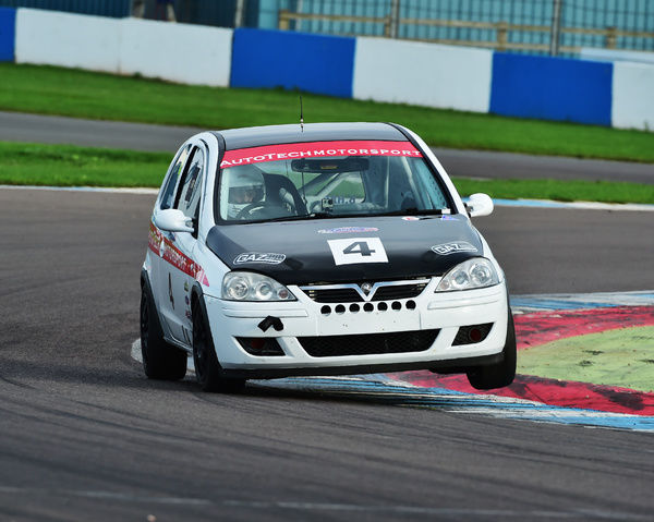 William Hardy, Vauxhall Corsa SRi, CSCC Tin Tops, Classic Sports Car Club, CSCC, Late Summer race Meeting, Donington Park, Sunday, 4th September, 2016, motor sport, nostalgia, racing cars, saloon cars, sports cars