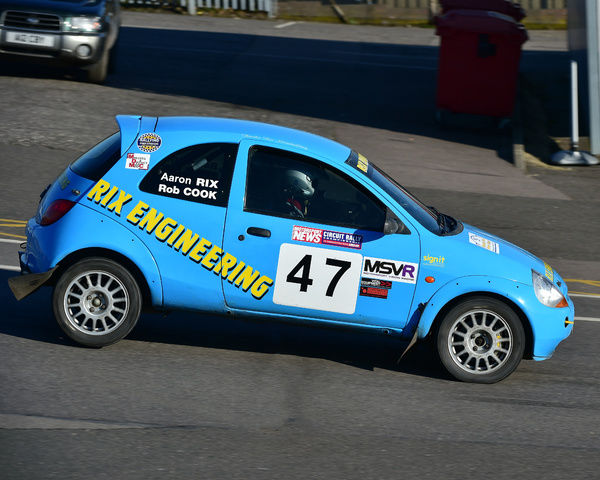 Aaron Rix Stephen Greenhill Ford Ka Mgj Rally Stages Chelmsford Motor Club