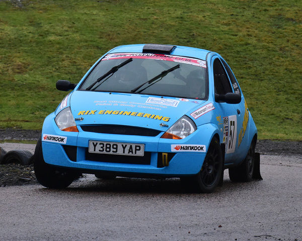 Aaron Rix Rob Cook Ford Ka Mgj Rally Stages Chelmsford Motor Club