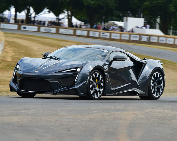 Yownes Skaini, Ralph Debbas, W Motors Fenyr Supersport, Michelin Supercar Run, First Glance, Festival of Speed - The Silver Jubilee, Goodwood Festival of Speed, 2018, Motorsports, automobiles, cars, entertainment, Festival of Speed