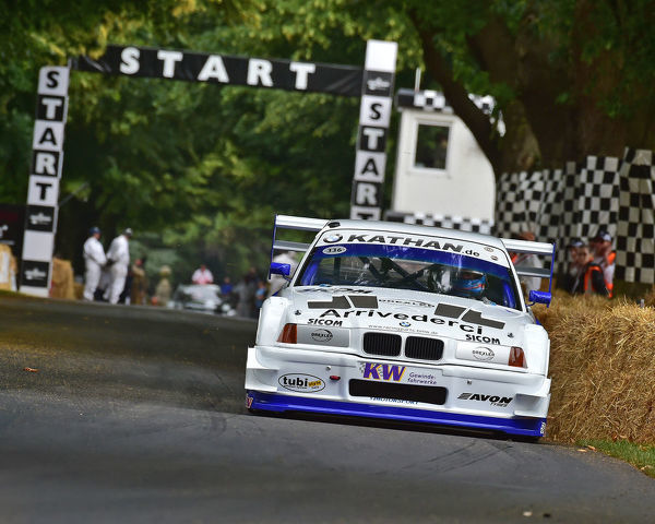 Joerg Weidinger, BMW E36 V8 Judd, Shootout Final, Goodwood Festival of Speed, 2019, Festival of Speed, Speed Kings, Motorsport's Record Breakers, July 2019, Motorsports, automobiles, cars, entertainment, Festival of Speed, FoS