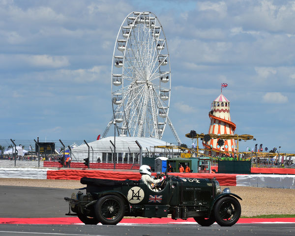 Katarina Kyvalova,Bentley 4Aoe Litre, Kidston Trophy, pre war sports cars, Silverstone Classic 2015, Chris McEvoy, cjm-photography, Classic Racing Cars, historic racing cars, HSCC, motor racing, motorsport, Northamptonshire, nostalgia, rocking and racing