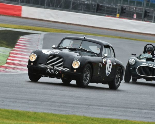 Steve Farthing, Chris Jolly, Aston Martin BD2, PUM 6, RAC Woodcote Trophy, Silverstone Classic 2015, Chris McEvoy, circuit racing, cjm-photography, classic cars, Classic Racing Cars, historic cars, historic racing cars, Historic Sports Car Club