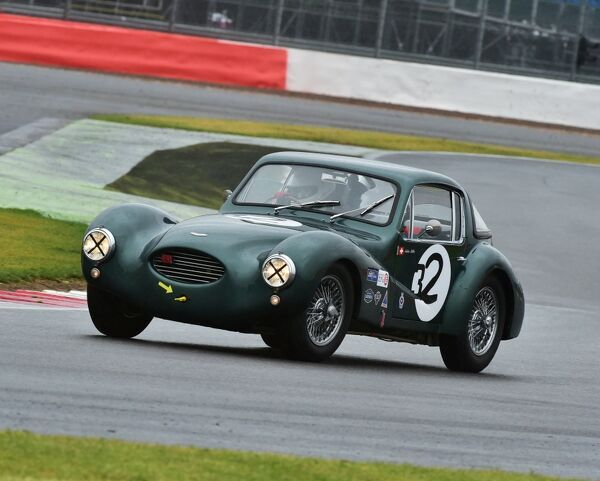 Arlette Muller, Aston Martin DB3 Coupe, RAC Woodcote Trophy, Silverstone Classic 2015, Chris McEvoy, circuit racing, cjm-photography, classic cars, Classic Racing Cars, historic cars, historic racing cars, Historic Sports Car Club, HSCC, motor racing