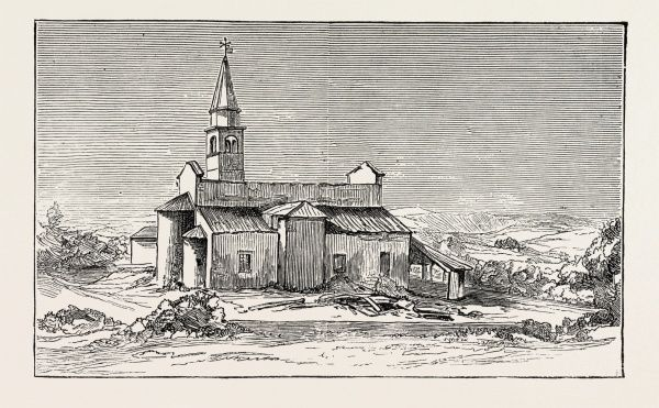 The Earthquake In Italy: The Church Of Conegliano, Where 34 Persons Were Killed And 25 Were Wounded, 1890 Engraving