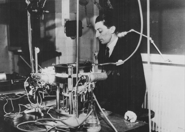 (Jean) Frederick Joliot-Curie (1900-1958), French physicist, in about 1930