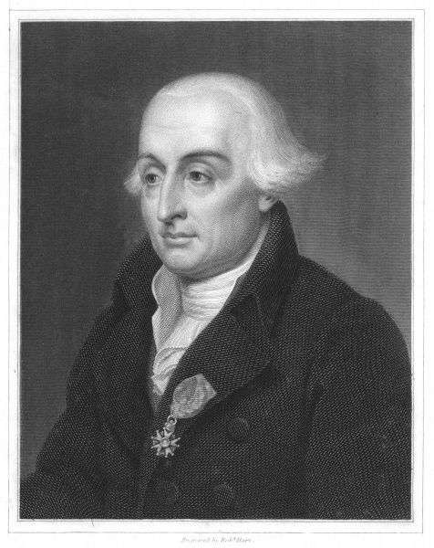 Joseph Louis Lagrange (1736-1813) French: analytical mathematics. From The Gallery of Portraits, Charles Knight, London, 1833