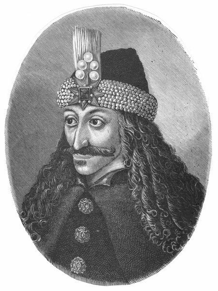Vlad Tepes (Vlad IV, The Impaler) Ruler of Walachia 1456-62, 1476-77. Apparently