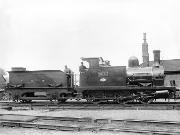 0-6-0 locomotive, about 1876