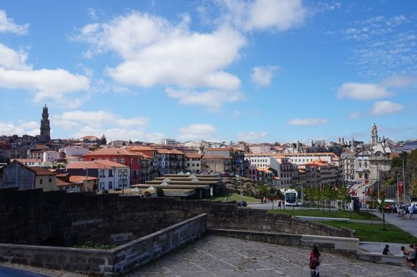 Broad overview over Porto, Portugal