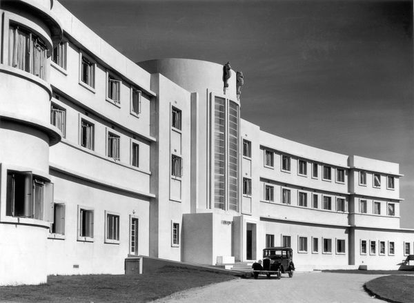 Midland Hotel in Morecambe, the first Art Deco hotel in Britain