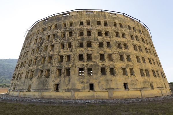 The Presidio Modelo was a model prison of Panopticon design, built on Isla de Pinos (now the Isla de la Juventud) in Cuba