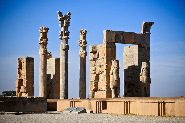 Persepolis Was The Ceremonial Capital Of The Persian Empire 12015106