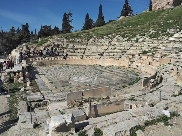 an analysis of the theater of dionysus