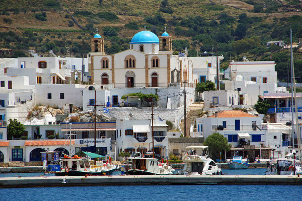 Town Lipsi on island Lipsi, Dodekanese islands, Greece