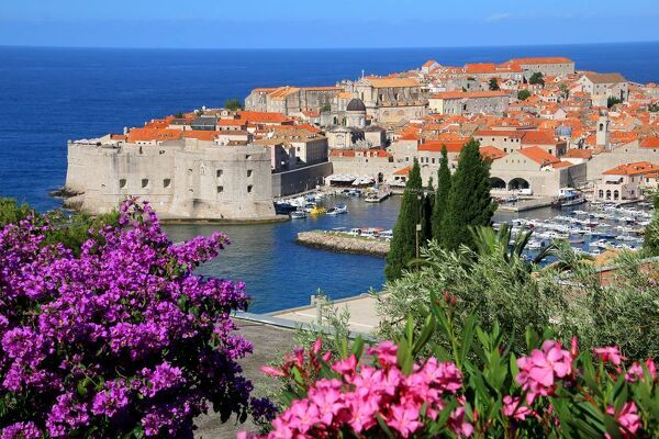 Dubrovnik is one of the most prominent tourist destinations in the Mediterranean Sea, a seaport on the Dalmation coast