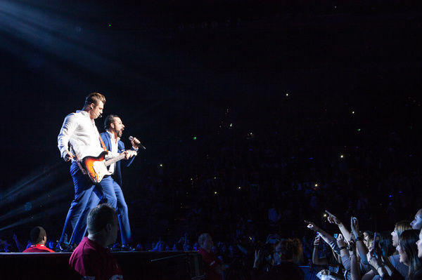 Backstreet Boys perform at Rod Laver Arena Melbourne