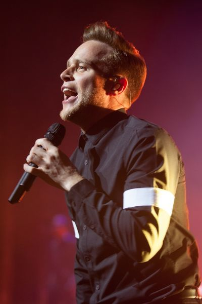Olly Murs performs live at the Palais Theatre in Melbourne