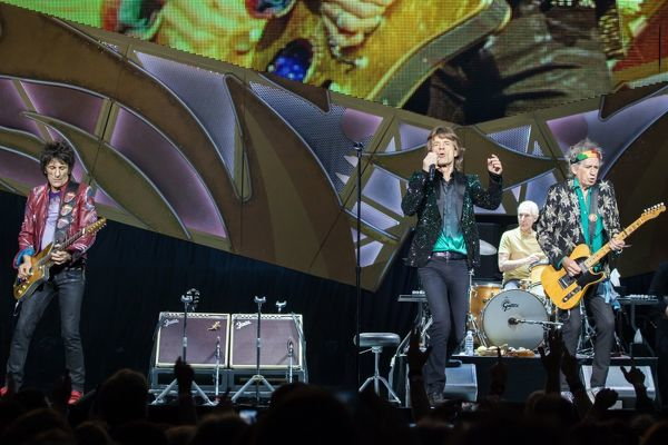 The Rolling Stones perform at Rod Laver Arena in Melbourne