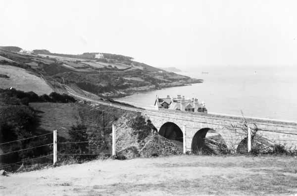 A view of the Carbis Bay Viaduct looking towards St Ives. Photographer: Canon Henry Holroyd Mills