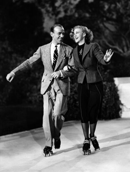 Fred Astaire And Ginger Rogers Shooting Shall We Dance 14267369