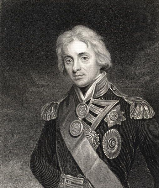 KW141835 Portrait Of Lord Horatio Nelson 1758 1805 Engraving By English