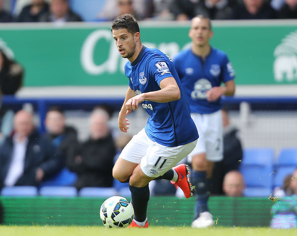 Everton's Kevin Mirallas during the game against Sunderland